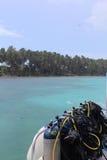 Half Moon Island, Belize Royalty Free Stock Photography