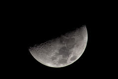 Half moon Stock Images