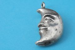Half Moon Silver Jewel Stock Photos