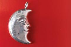 Half Moon Silver Jewel Stock Image