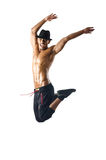 Half-naked dancer Royalty Free Stock Images