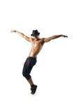 Half-naked dancer Royalty Free Stock Images