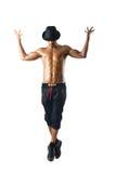 Half-naked dancer Stock Image