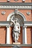 Half naked girl sculpture. Odessa, Ukraine Stock Photos