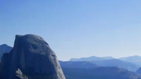 half nationalpark yosemite för kupol royaltyfria foton