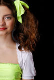 A half of naughty teenage girl Stock Photography