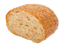 Half Of Bread Royalty Free Stock Photo