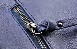 Half open zipper Royalty Free Stock Photos