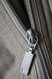 Half open zipper Stock Images
