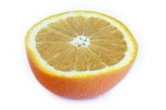 half orange royaltyfria foton