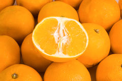 Half orange Royalty Free Stock Images
