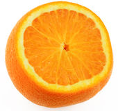 Half of orange Stock Photo