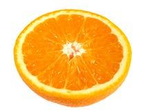 Half an orange Stock Images