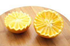 Half orange Stock Image