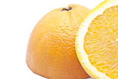 Half orange Royalty Free Stock Photography
