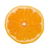 half orange Arkivbild