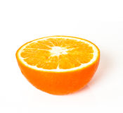 A half of an orange Stock Images