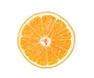 half orange Arkivbilder