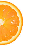 Half Of Orange Stock Images