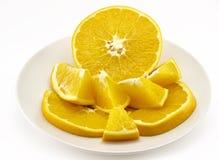 Half orange Royalty Free Stock Image