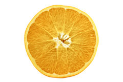 Half orange Stock Images