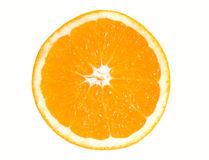 Half of orange Royalty Free Stock Image