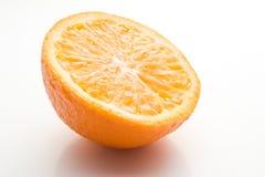 Half orange Stock Images