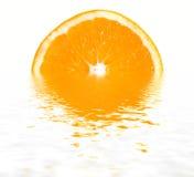 Half of orange Stock Photos