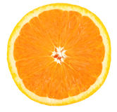 half orange Royaltyfri Bild