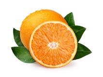 half orange helt Arkivbilder