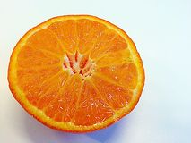 Half of orange Royalty Free Stock Photo