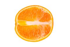 Half of orange Royalty Free Stock Photography