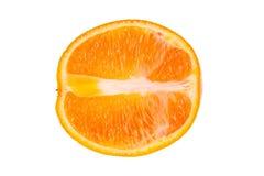 Half of orange royalty free stock photography