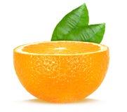 Half orange Royalty Free Stock Photography
