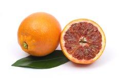 half orange red Fotografering för Bildbyråer