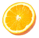 Half Orange Section Isolated Royalty Free Stock Photo