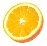 Half Orange Section Isolated Royalty Free Stock Photo