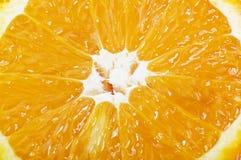 Half orange slice Royalty Free Stock Image