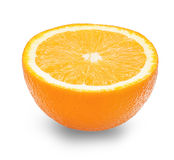 A half of orange Royalty Free Stock Photography