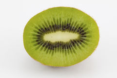 Half of organic kiwi Stock Photo