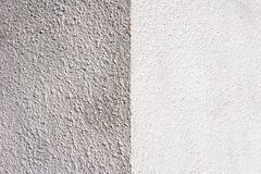 Half painted wall Stock Photos