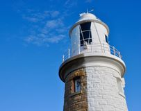 Half-Painted:Woodman Point Lighthouse Royalty Free Stock Photos