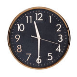 Half past eleven on the clock Royalty Free Stock Photo
