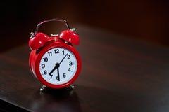 Half past seven on the alarm clock Royalty Free Stock Image