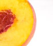 Half peach Stock Images