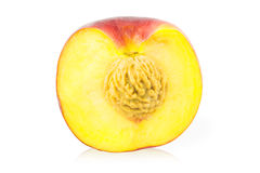 Half peach Royalty Free Stock Photography