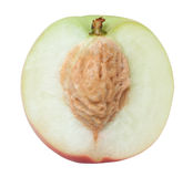 half of peaches Royalty Free Stock Photography