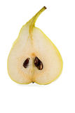 Half of pear Royalty Free Stock Image
