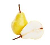 half pear Arkivbilder