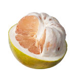 Half peeled pomelo Royalty Free Stock Photography